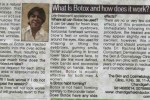 What is Botox - an article by Dr. Rachna Mittal published in Hindustan Times