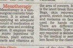 To read more about Mesotherapy Click here